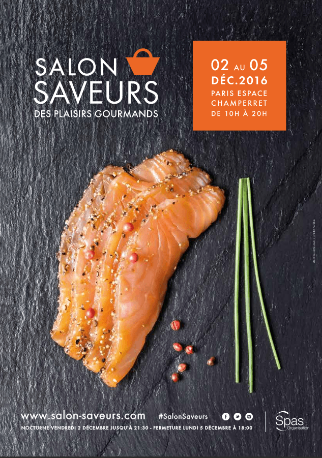 Saveurs des Plaisirs Gourmands - Espace Champeret - du 02 au 05 Décembre 2016
