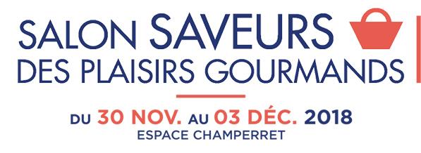 Logo salon Saveurs des plaisirs gourmands 2018