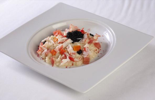 Roulés de saumon fumé et Caviar Dom Petroff