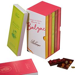 CHOCOLATERIE BELLANGER - Coffret de tablettes Balzac