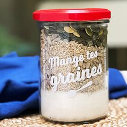 MANGE TES GRAINES - Préparation pour crackers de graines et légumes