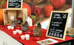 Stand exposant Mange tes graines