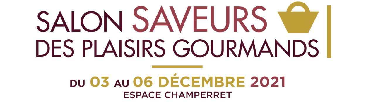 Logo salon Saveurs des plaisirs gourmands 2021